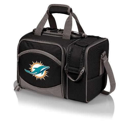 Picnic Time Miami Dolphins Malibu Insulated Picnic Pack