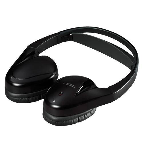 Audiovox IR2CFF Fold Flat Dual-Channel Wireless Infrared Stereo Headphones IR2