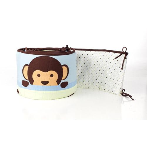 Pam Grace Creations - Maddox Monkey Crib Bumper