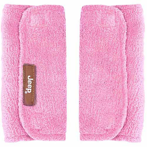 Jeep Strap Covers, Pink