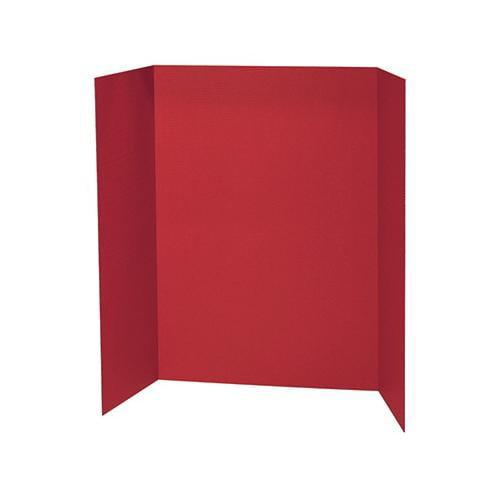 Shoplet Best RED PRESENTATION BOARD 48X36 SCBPAC3770-27 (Pack of 27)