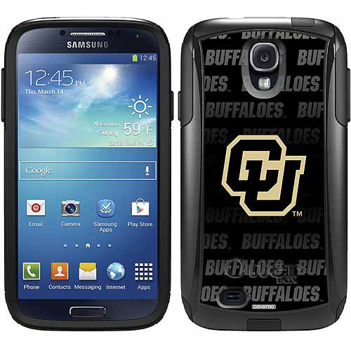 University of Colorado Repeating Design on OtterBox Commuter Series Case for Samsung Galaxy S4