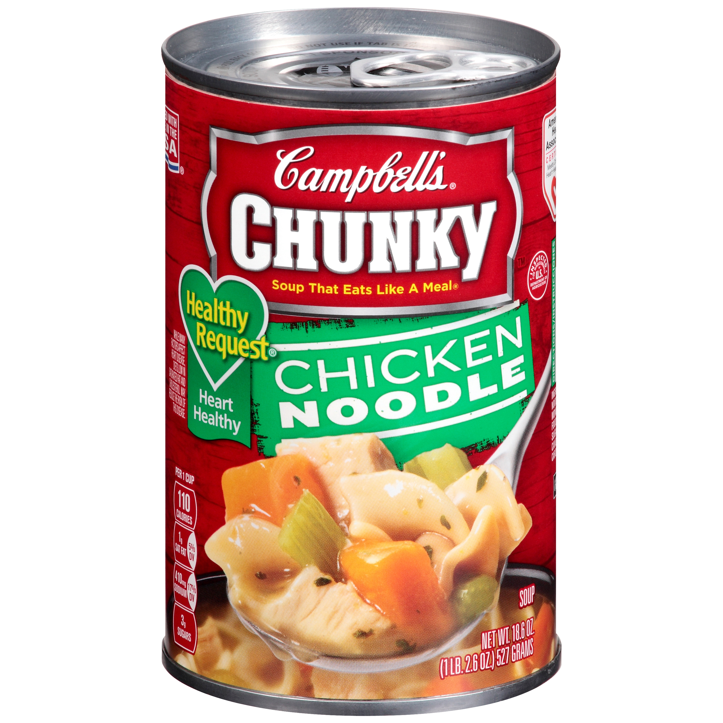 Campbell's Chunky Healthy Request Chicken Noodle Soup 18.6oz