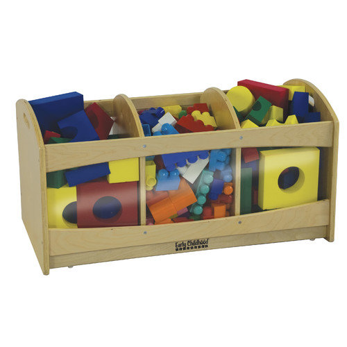 ECR4Kids See-Through Birch Storage