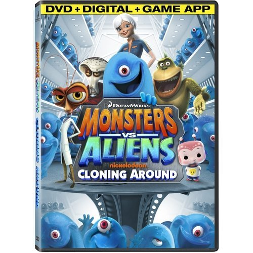 Monsters Vs. Aliens: Cloning Around (DVD + Digital Copy + Game App) (With INSTAWATCH) (Widescreen)