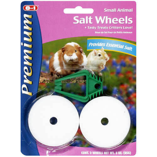 Premium: For Small Animals Salt Wheels, 3 Oz