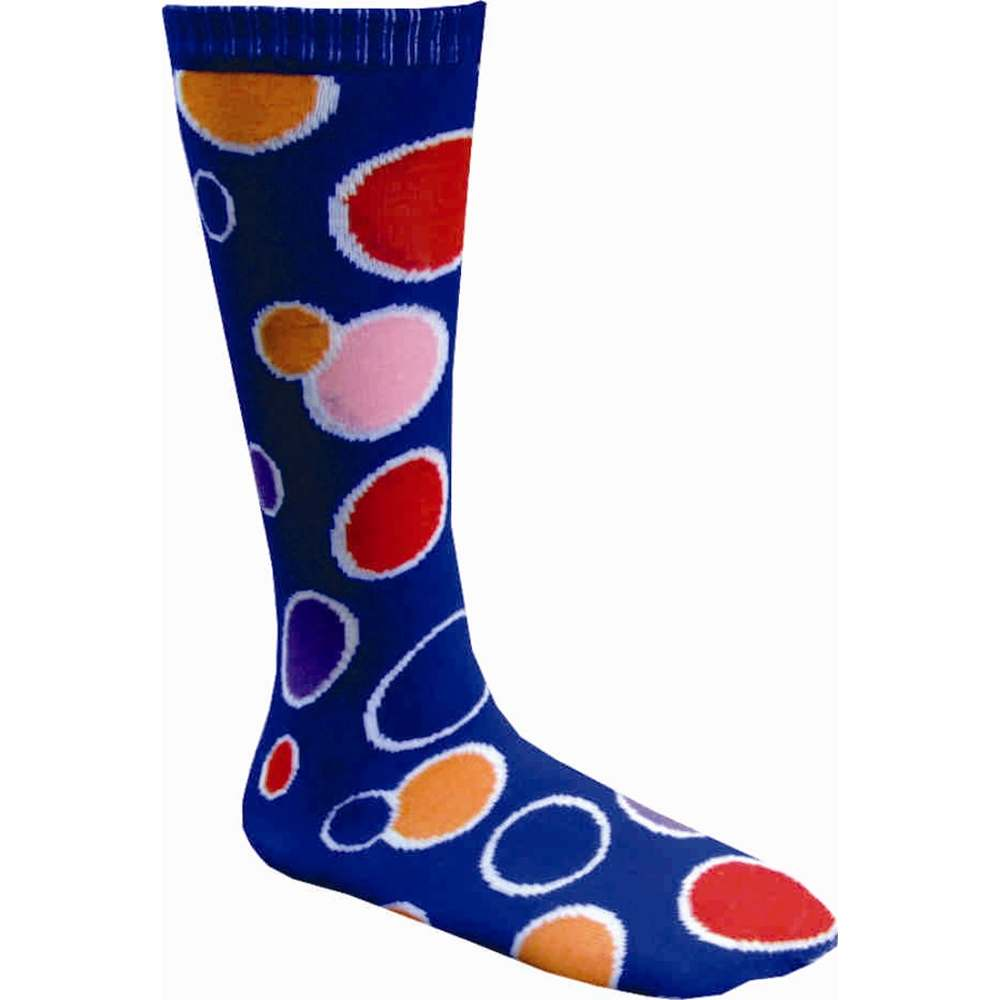 Polka Dot Blue Knee Socks