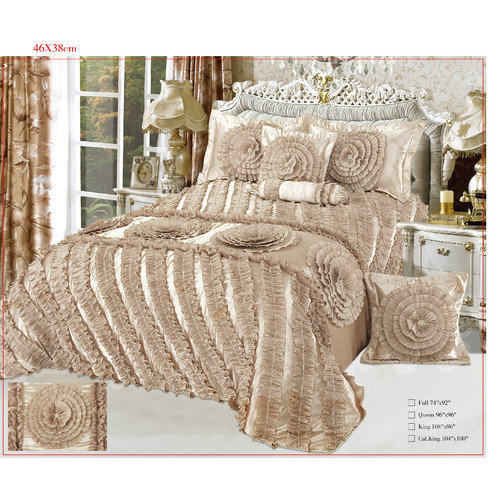Tache Home Fashion Harvest Moon 6 Piece Comforter Set