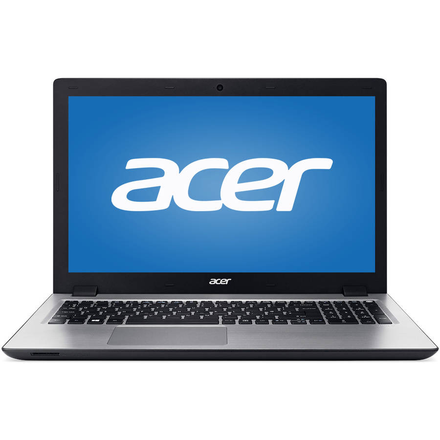 "Manufacturer Refurbished Acer Black 15.6"" Aspire V3-574-7481 Laptop PC with Intel Core i7-5500U Processor, 8GB Memory, 1TB Hard Drive and Windows 10 Home"