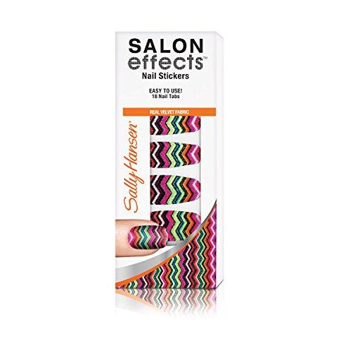 Sally Hansen Salon Effects Couture Nail Stickers, Fab-Ric, 18 Count