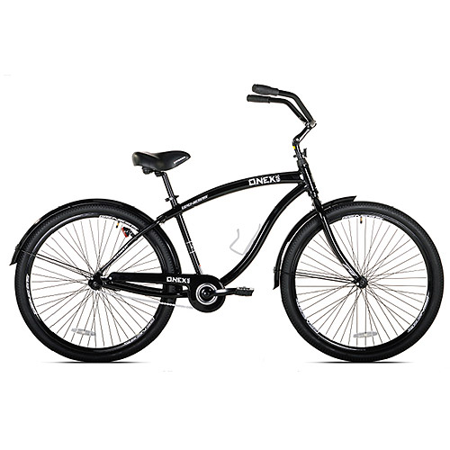 "29"" Genesis Onex Cruiser Men's Bike, Black"