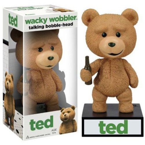 FUNKO Ted Talking Wacky Wobbler Bobble Head Figure