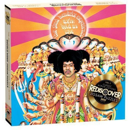 "Jimi Hendrix ""Axis Bold As Love"" Jigsaw Puzzle, 300 Pieces"