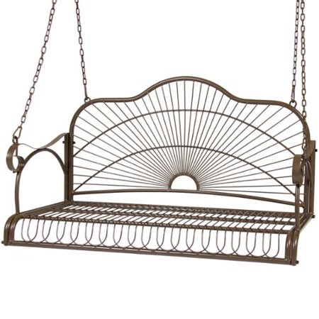 hanging porch swing chair bench seat outdoor furniture