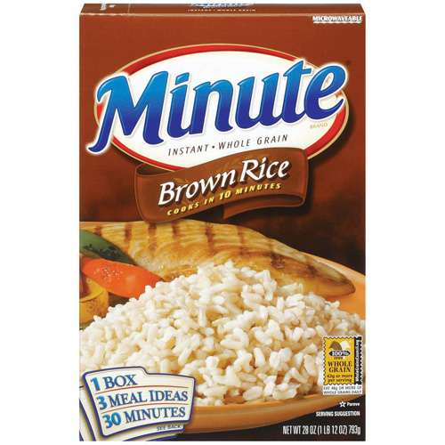 Minute Instant Whole Grain Brown Rice, 28 oz