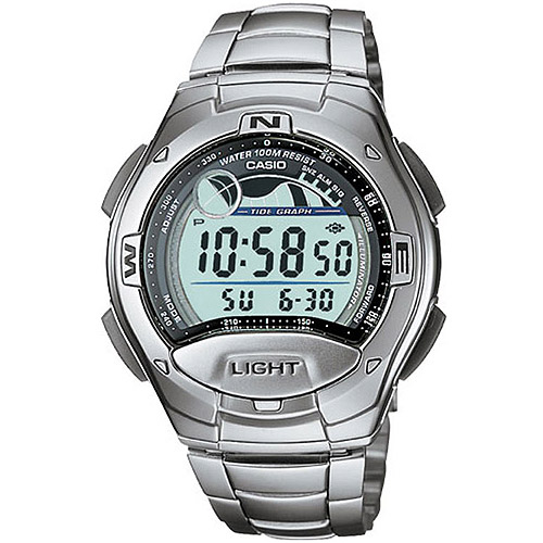 Casio Men's Casual Sport Watch, Stainless Steel