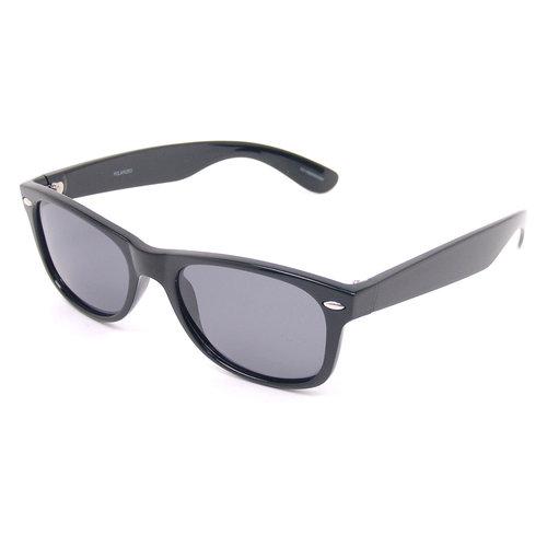 Foster Grant Polarized Wayfarer Sunglasses, Black