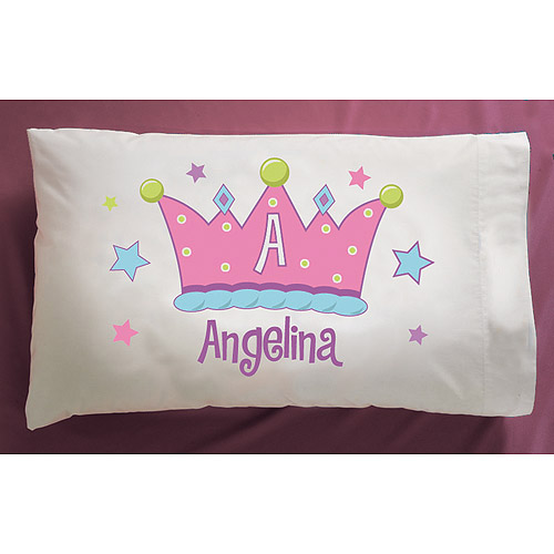 Personalized Crown Pillowcase