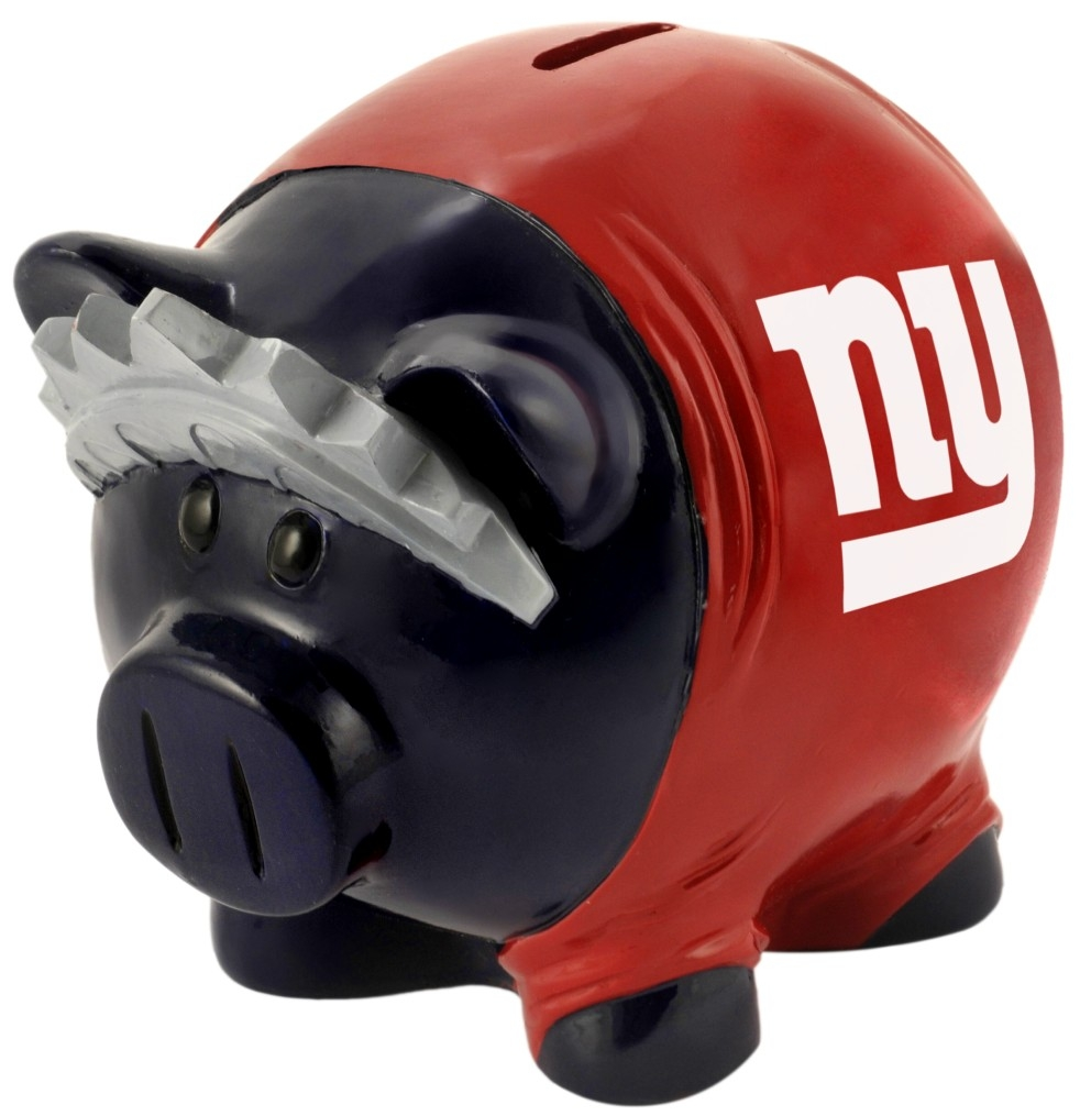 New York Giants Official MLB Piggy Bank by Forever Collectibles 057506