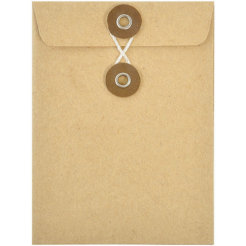 "Kraft Envelopes, 3"" x 4"", 5pk"