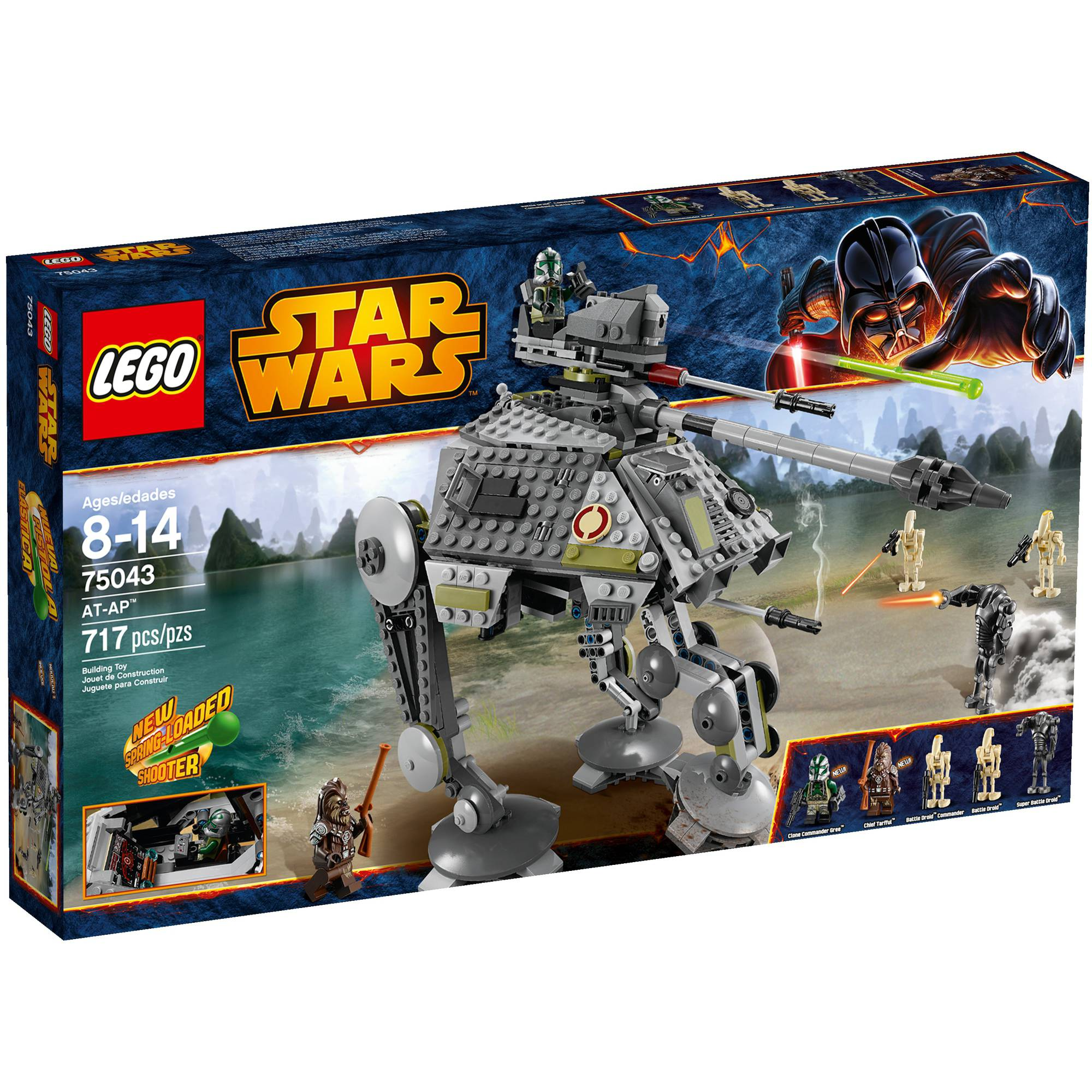 LEGO Star Wars AT-AP Play Set