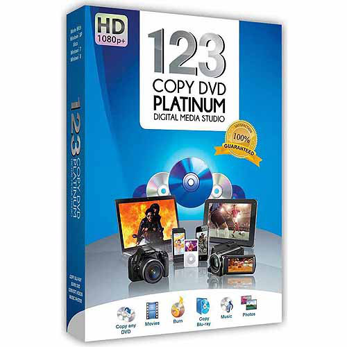 123 Copy DVD Platinum (PC)