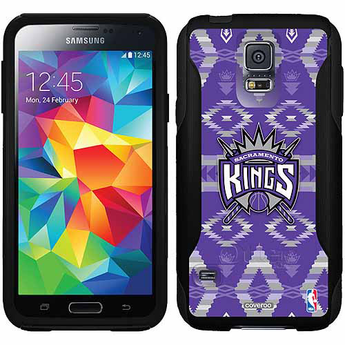 Sacramento Kings Tribal Print Design on OtterBox Commuter Series Case for Samsung Galaxy S5