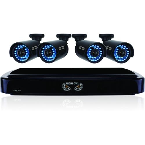 NIGHT OWL - OBSERVATION & SECURITY NIGHT OWL B-A720-41-4 HD720P 4X4CH AHD 1 TB HDD