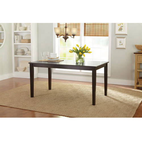 Better Homes and Gardens Bankston Dining Table, Mocha