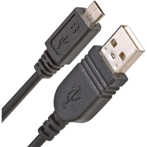 Link Depot 3' USB 2.0 Male to Micro-USB Male