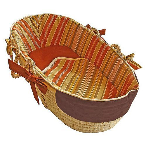 Hoohobbers Hot Sauce Moses Basket - Tailored