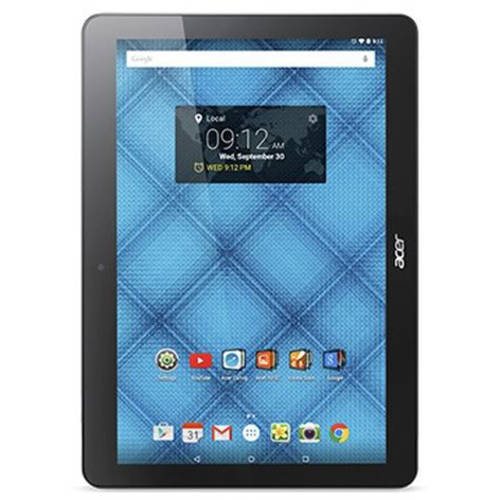 "Acer Iconia with WiFi 9.6"" Touchscreen Tablet PC Featuring Android 5.1 (Lollipop) Operating System, Midnight Black"