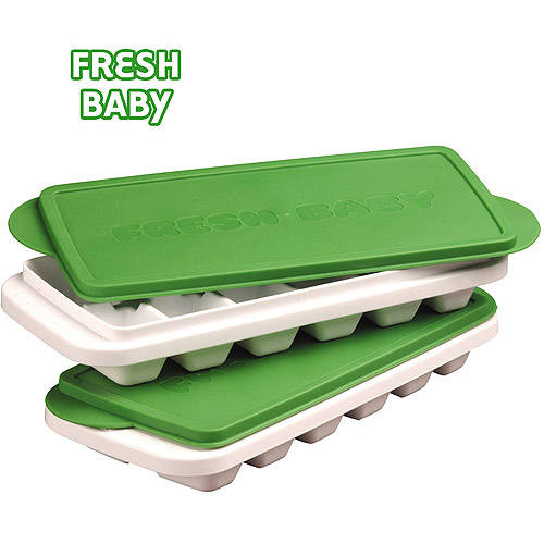 Fresh Baby - So Easy Storage Trays for Baby Food and Breast Milk, BPA-Free