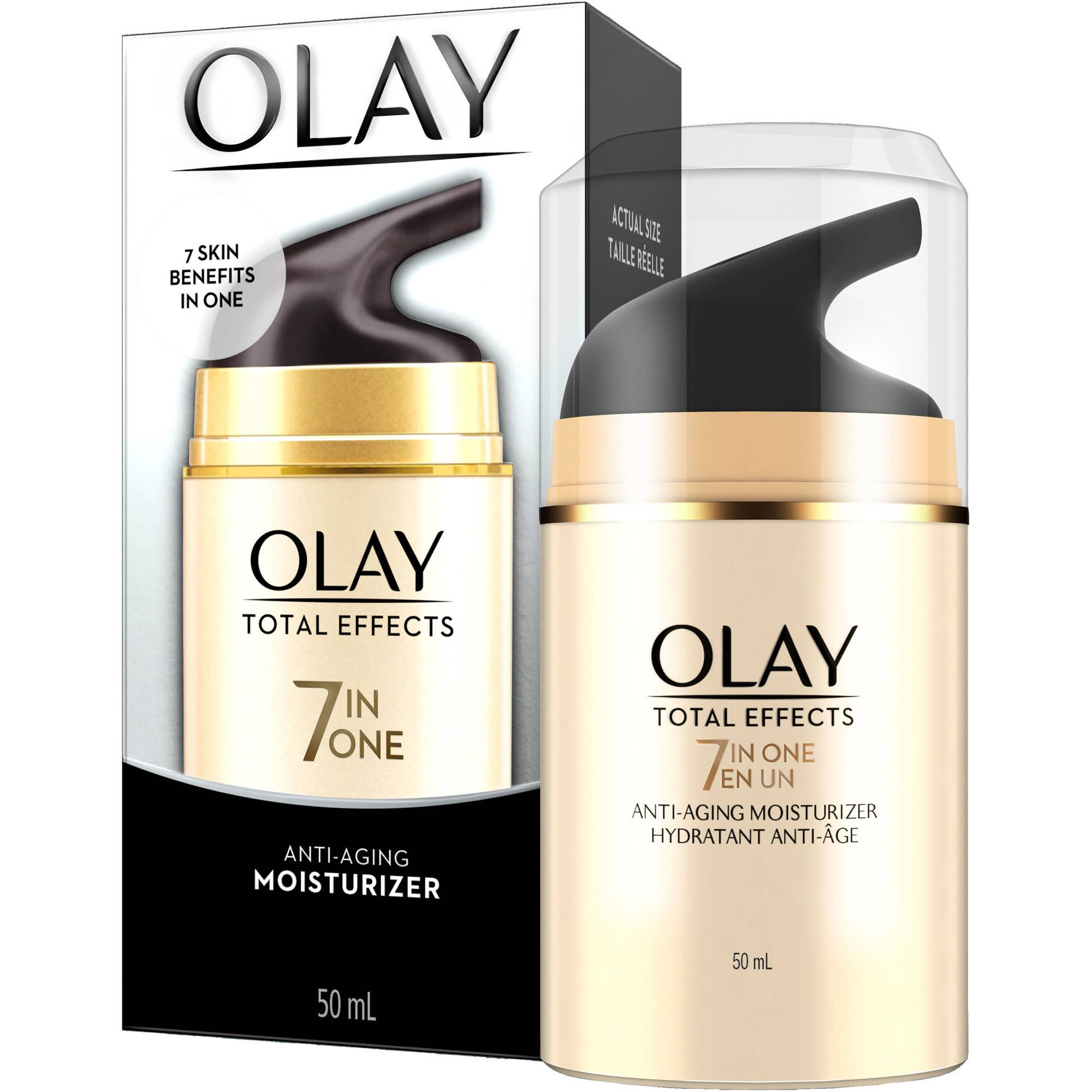 Olay Total Effects 7-in-1 Anti-Aging Moisturizer, 1.7 fl oz