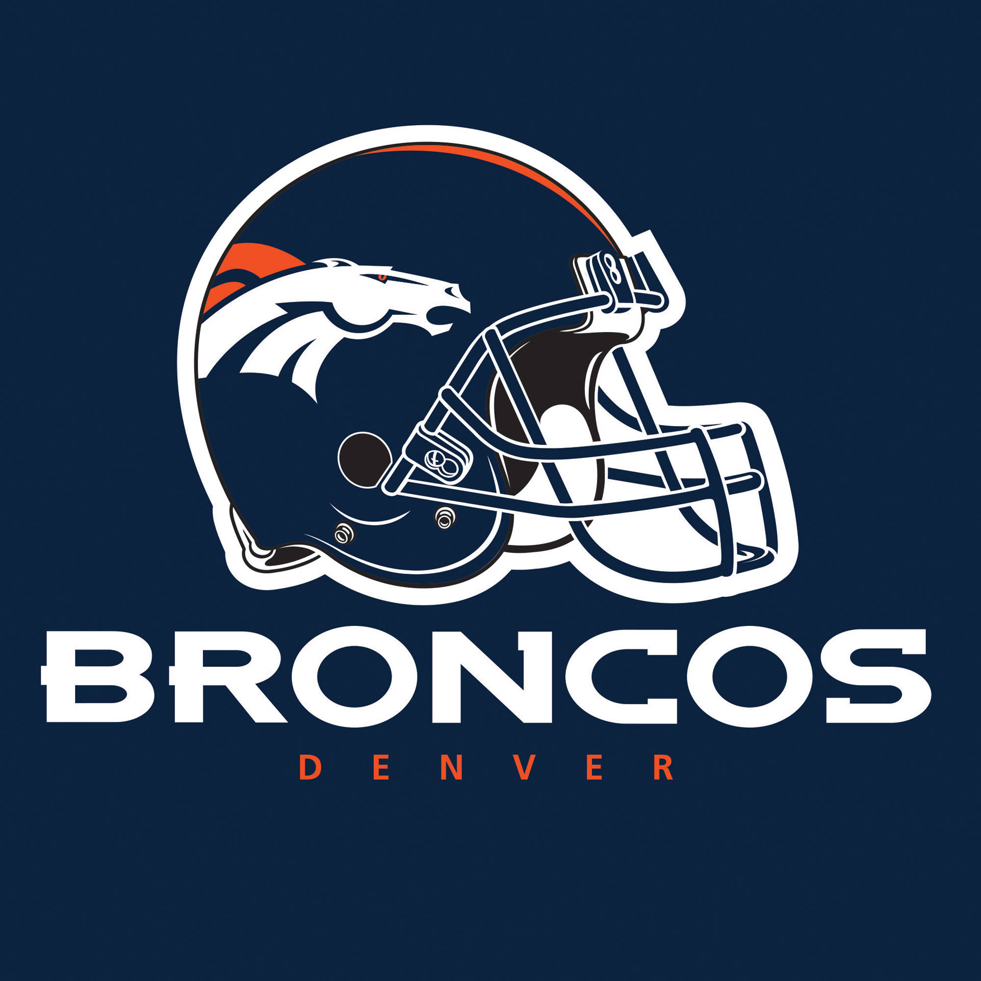 Denver Broncos Napkins, 16-Pack