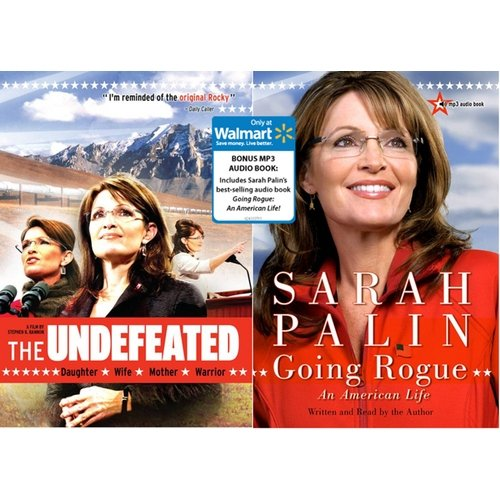 The Undefeated (with Going Rogue: An American Life Audio Book) (Exclusive) (WALMART EXCLUSIVE)