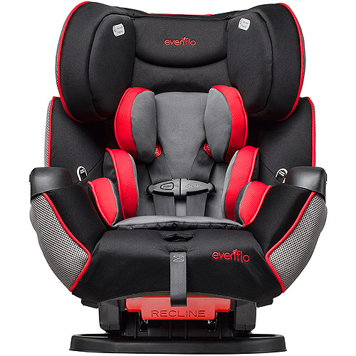 Evenflo Symphony LX All-in-1 Convertible Car Seat, Kronus