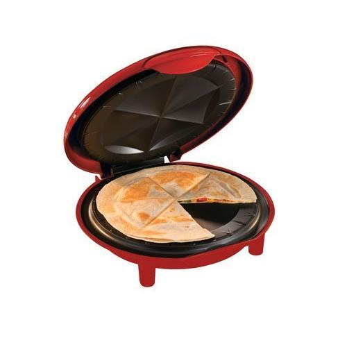 Brentwood Appliances TS-120 Quesadilla Maker. Red