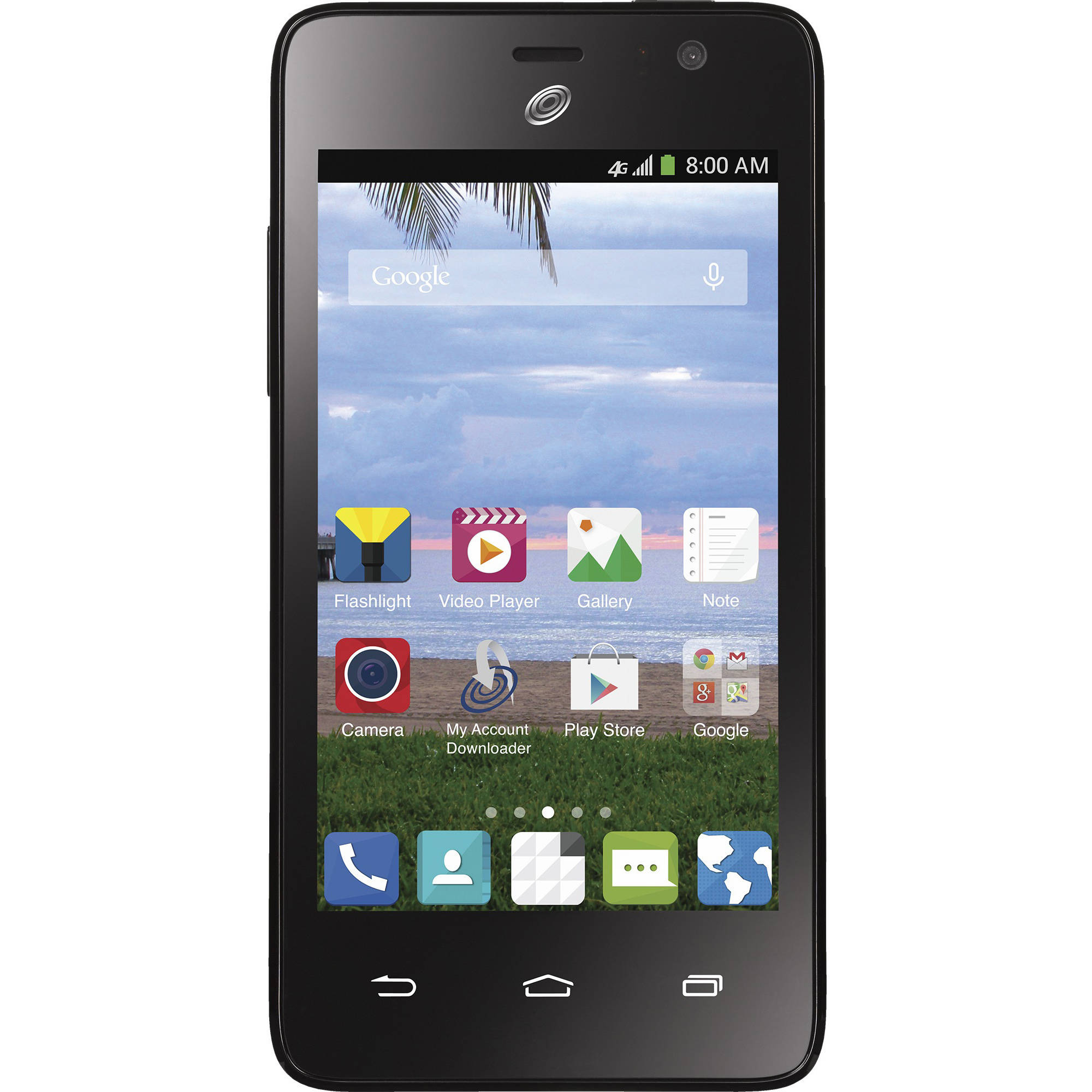 Straight Talk ZTE Paragon Prepaid Smartphone with Bonus $45 Unlimited Plan