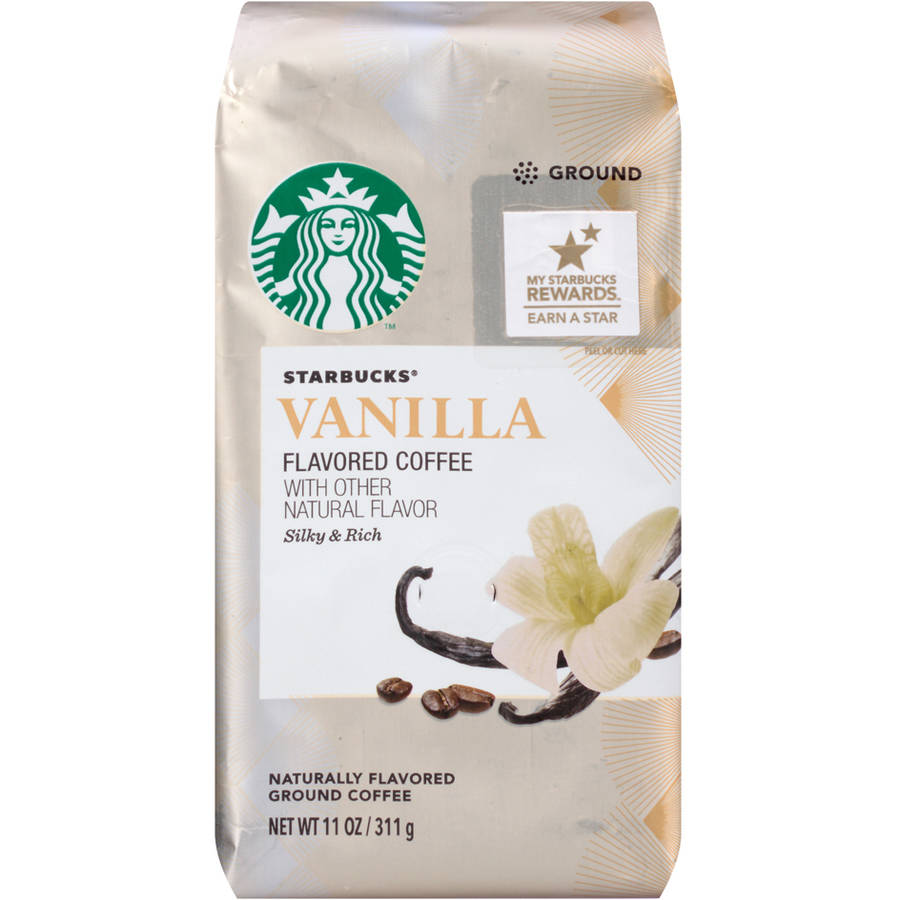 Starbucks Natural Fusions Vanilla Ground Coffee, 11 oz