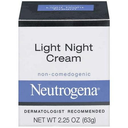 neutrogena light night cream moisturizer oz. Black Bedroom Furniture Sets. Home Design Ideas