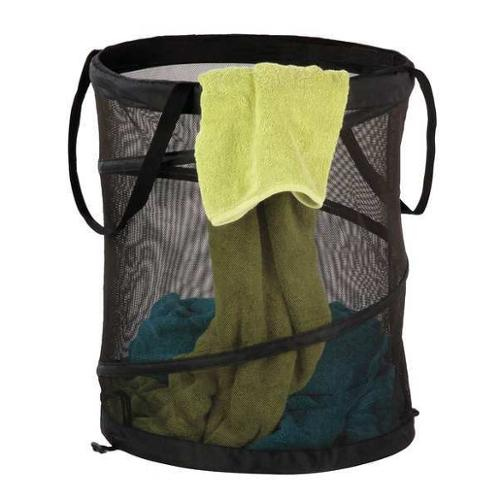 "19"" Pop Up Laundry Hamper, Honey-Can-Do, HMP-01127"