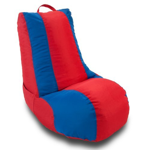 Ace Bayou Medium School Video Game Chair - Red/Blue