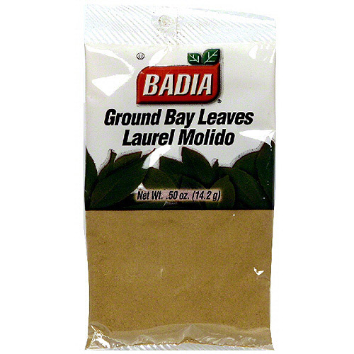 Badia Ground Bay Leaves, .5 oz (Pack of 12)