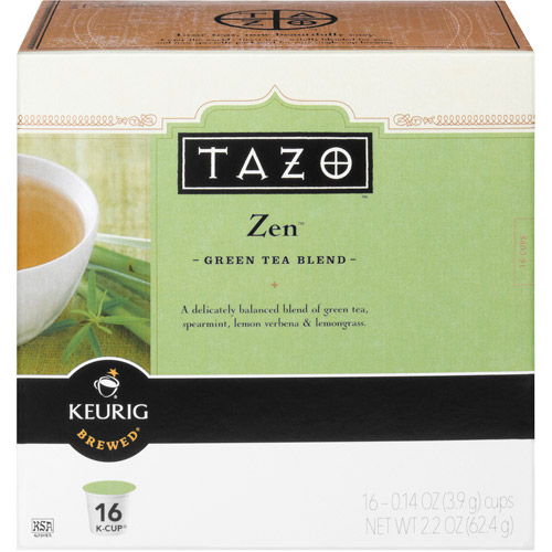 Starbucks Tazo K-Cup Zen Tea, 16ct