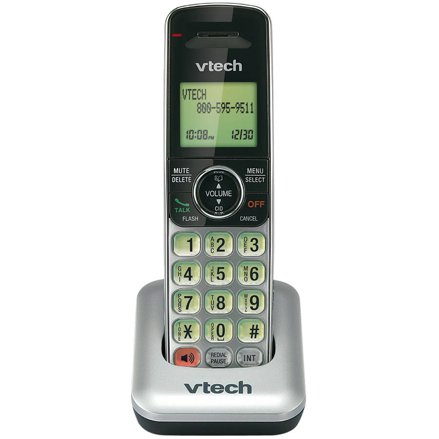 VTech CS6409 DECT 6.0 Cordless Accessory Handset for CS6419 and CS6429 (Accessory handset only ��� requires a CS6419, CS6428 or CS6429 series phone to operate)