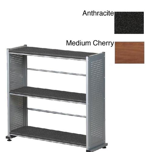 Mayline Eastwinds 3-shelf Bookcase Medium Cherry