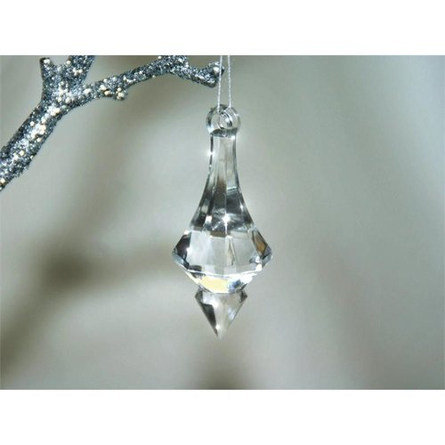 Ya Ya Cupids Diamond Arrowheads 50 pcs Acrylic Clear