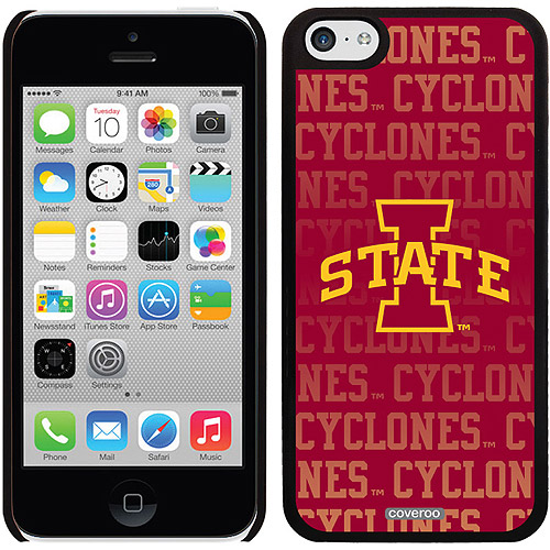 Coveroo Iowa State Repeating Design Apple iPhone 5c Thinshield Snap-On Case