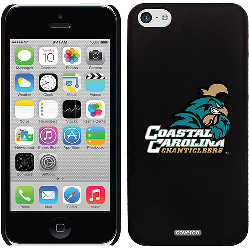 Coastal Carolina Primary Mark Design on iPhone 5c Thinshield Snap-On Case by Coveroo
